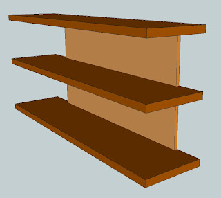 how to cut a square recess in wood