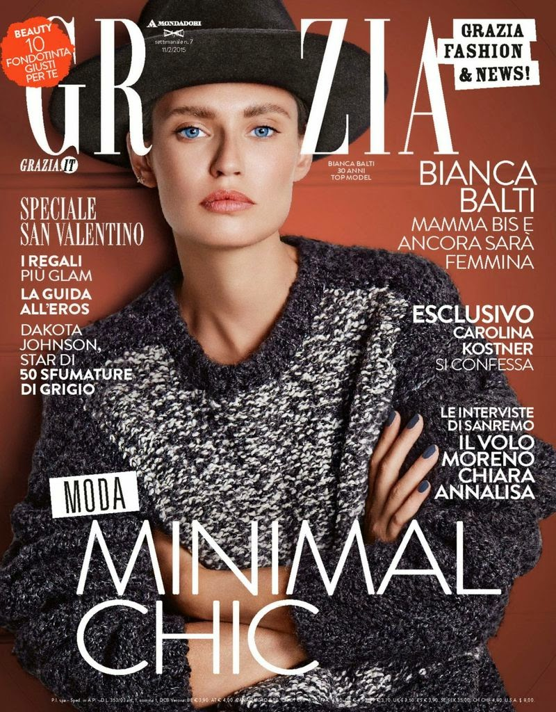 Fashion Model: Bianca Balti for Grazia Italy