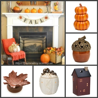 New Scentsy warmers and fragrances for Fall!