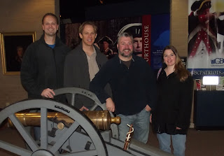 The Hercules of the Revolution film team at Guilford Courthouse National Military Park