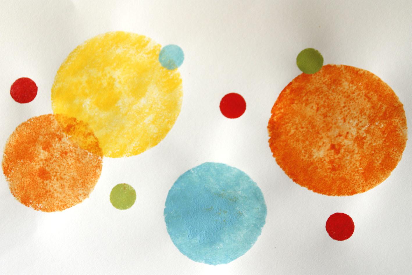 Pintalalluna pintura con esponja - Formas de pintar paredes con esponja ...