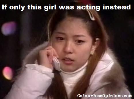 Kwon BoA in Golbaengi sitcom meme