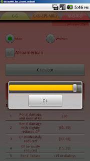 calculadora de función renal eGFR