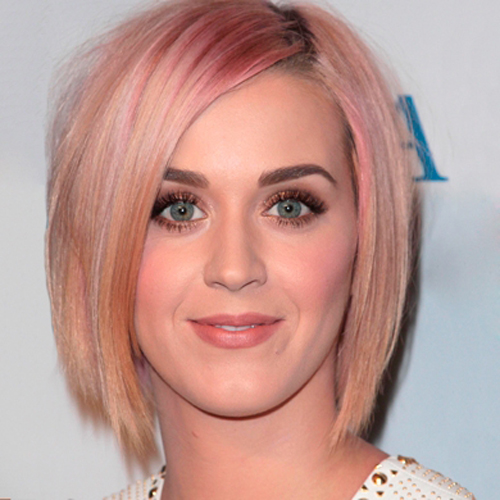 Katy Perry hair - The Rock & Roll Bob