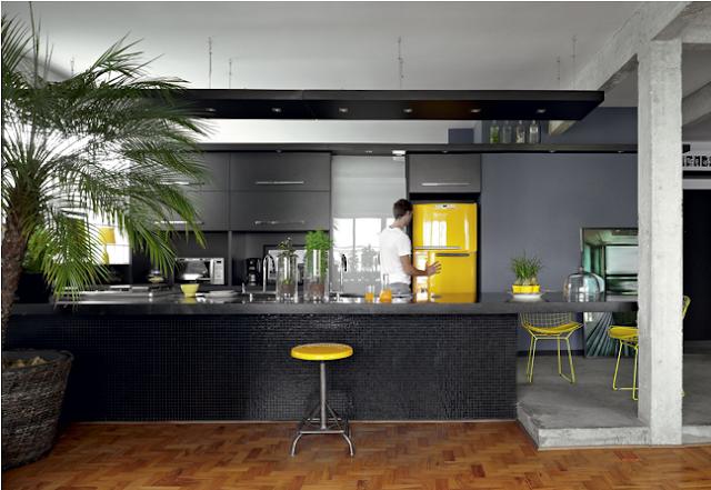 Construindo Minha Casa Clean: Cozinhas Pretas e Modernas ...