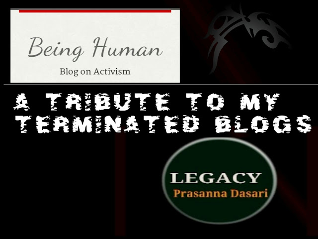 A Tribute To My Terminated Blogs