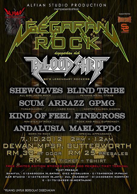 Event Gegaran Rock 2012
