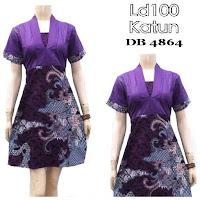 Baju Batik Dress Murah
