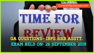 IBPS RRB Assistant Exam 26 September 2015