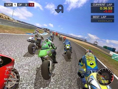 Motorcu Gerçek Yarışı