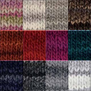 gama colores lana tikal katia self packaging