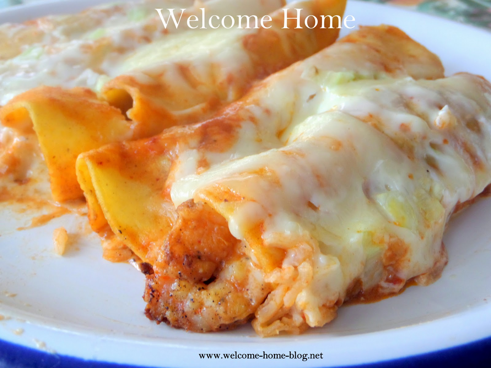 My Dad's Seafood Enchiladas Recipes — Dishmaps