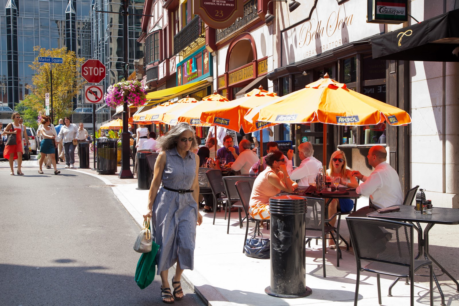 The Menu Expands In Market Square