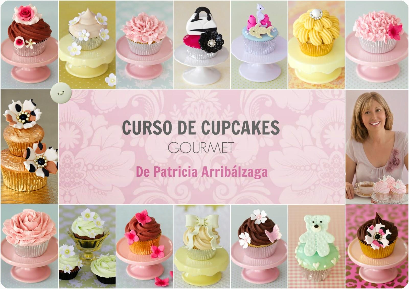 Curso de cupcakes gourmet online