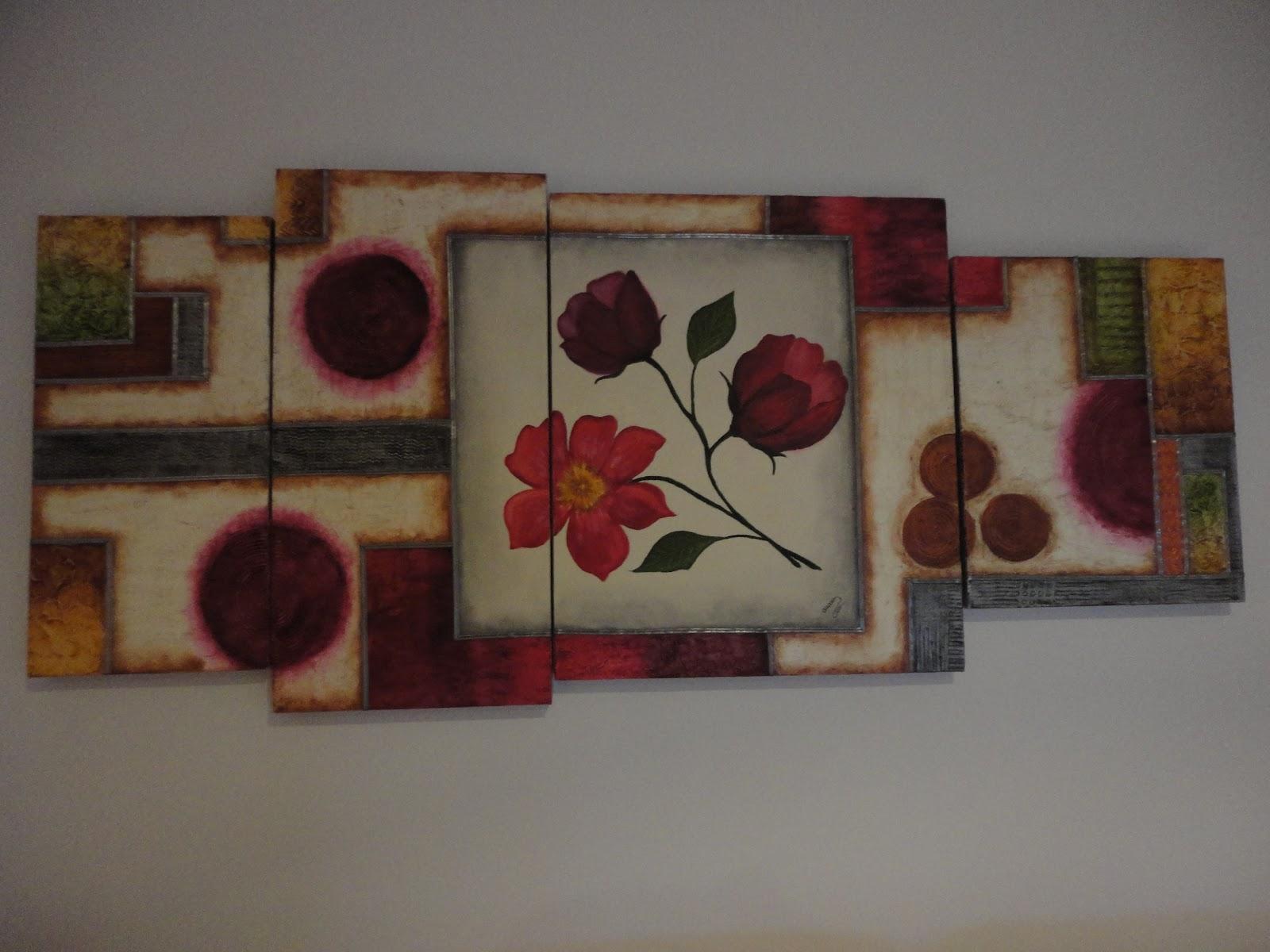 Cuadros con texturas mi casita del mu rdago - Cuadros con texturas abstractos ...