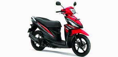 Warna Suzuki New Address 2015 Merah