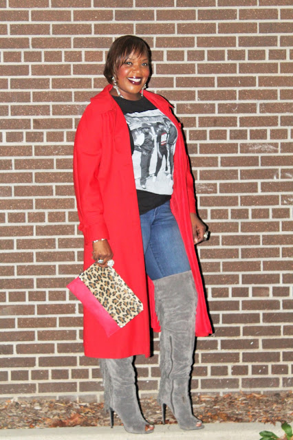 Dressing-for-fall-becomes-fun-when-you-wear-a-tomato-red-trench-coat-and-fringe-over-the-knee-boots