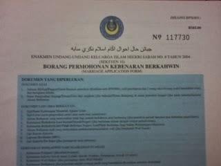 Asha Lya Update B2b Borang Nikah