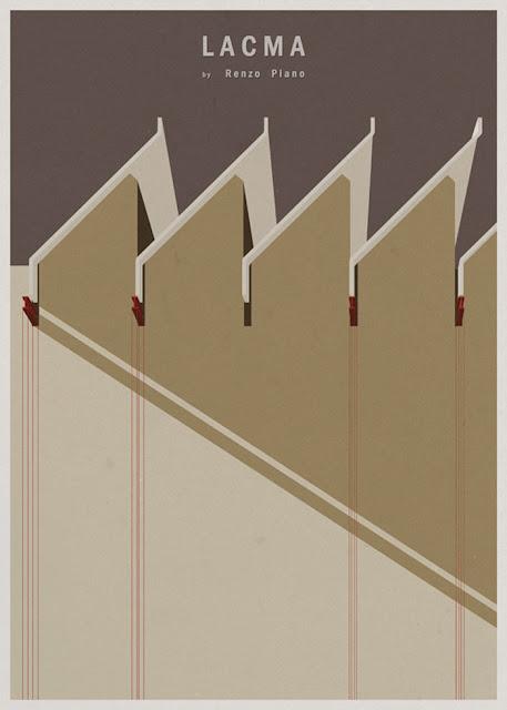 ilustraciones de arquitectura de André Chiote
