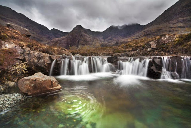 The Simple Beauty Of Nature: Fairy Pools Glenbrittle Valley Isle of Skye Island, Western Scotland