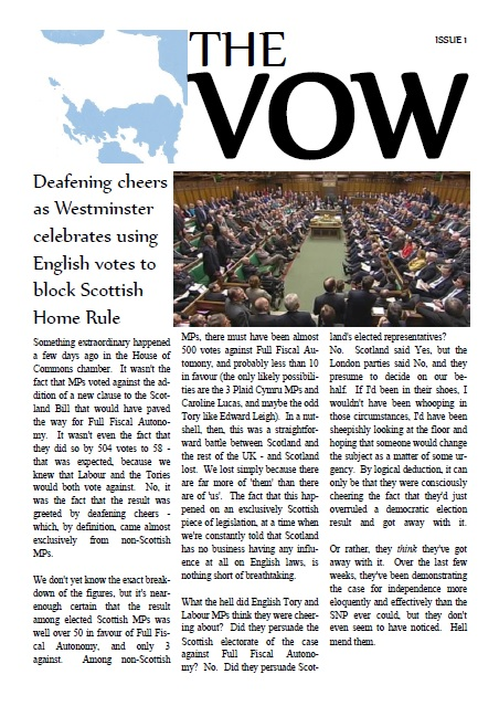 The VOW - ISSUE 1
