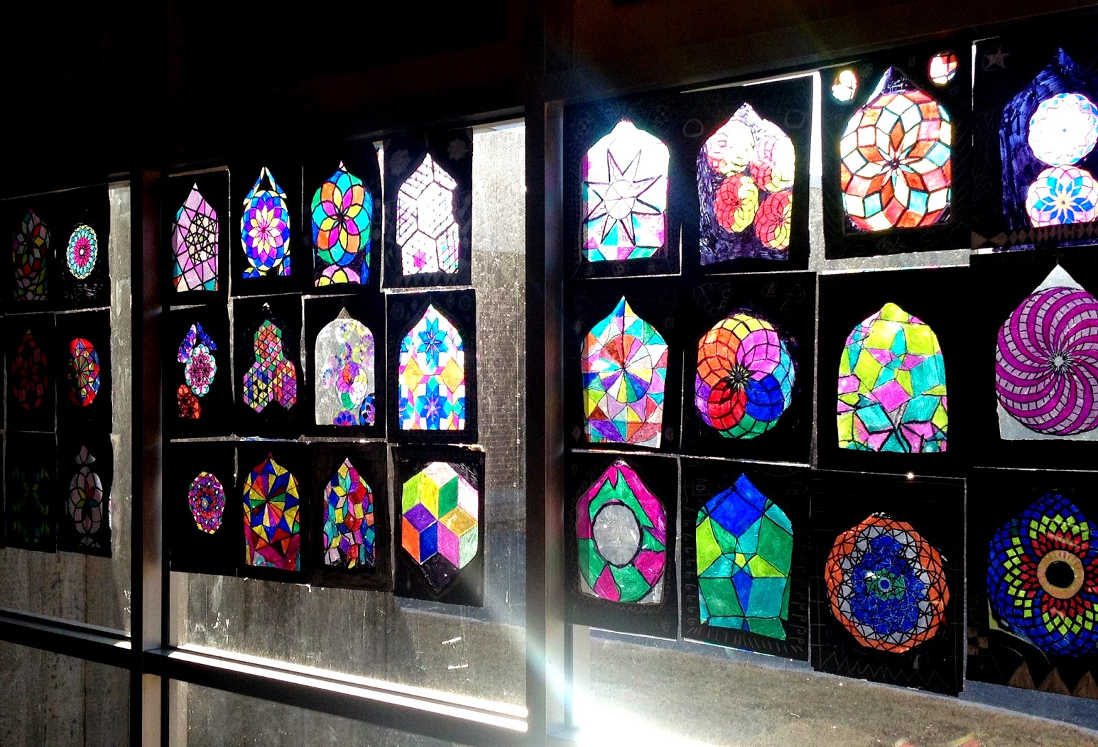 Stained Glass Paper For Windows Stained Glass Windows
