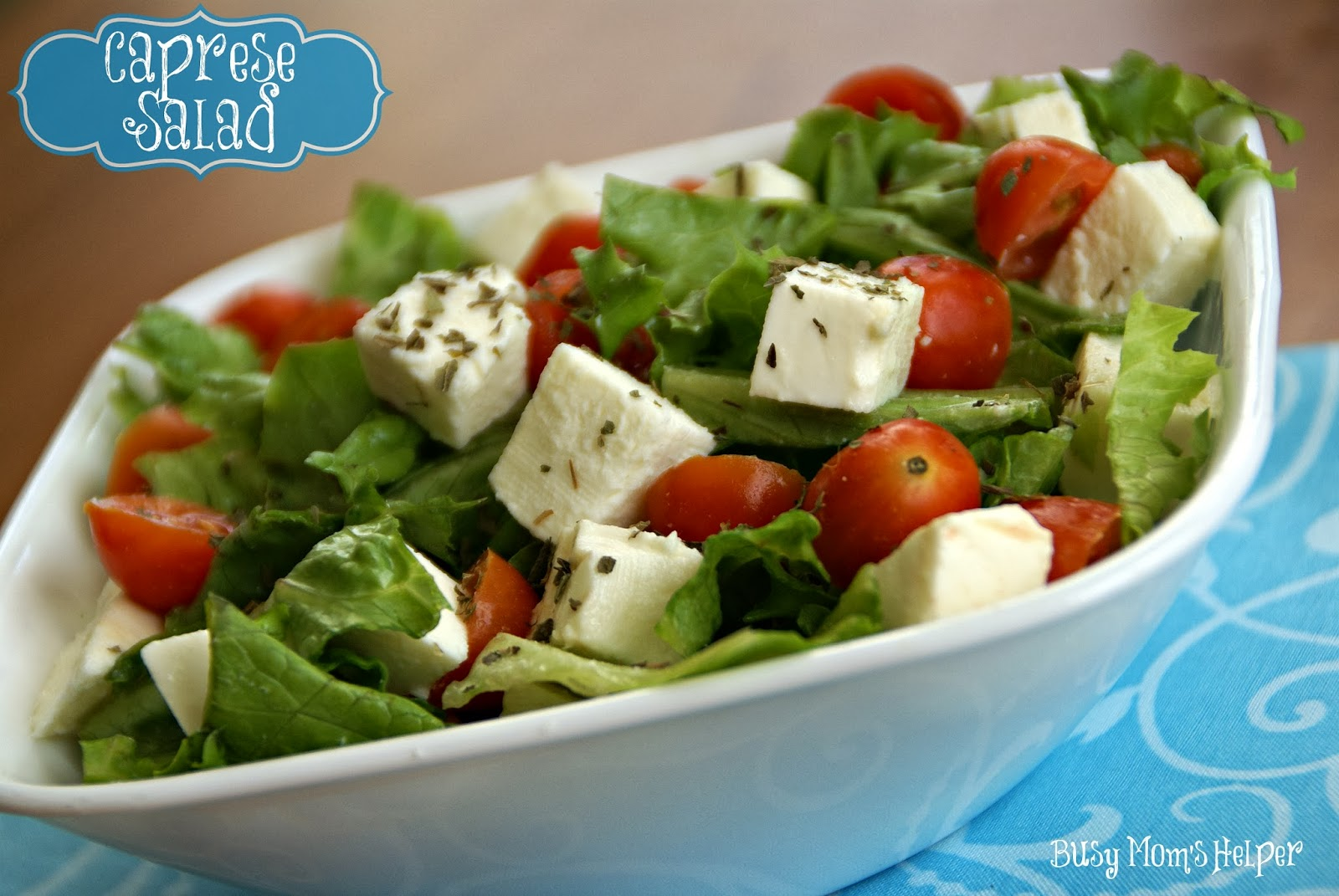 Caprese Salad - Busy Moms Helper