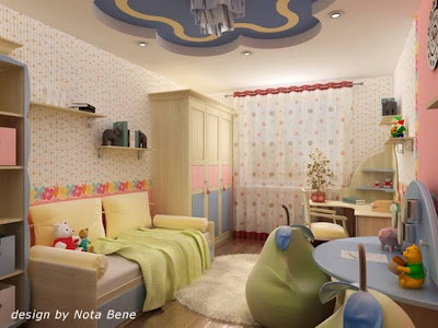 decoración paredes niños