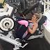 Treino de quadríceps da Roberta Zuñiga do dia 21/07/2015