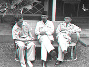 SJAHRIR, SOEKARNO, HATTA IN 3D VERSION ANAGLYPH. Posted by bb kita at 08:32 (sjahrir bung karno hatta)