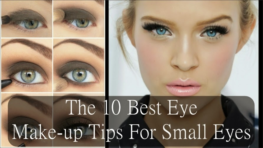 The 10 Best Eye Make-up Tips For Small Eyes