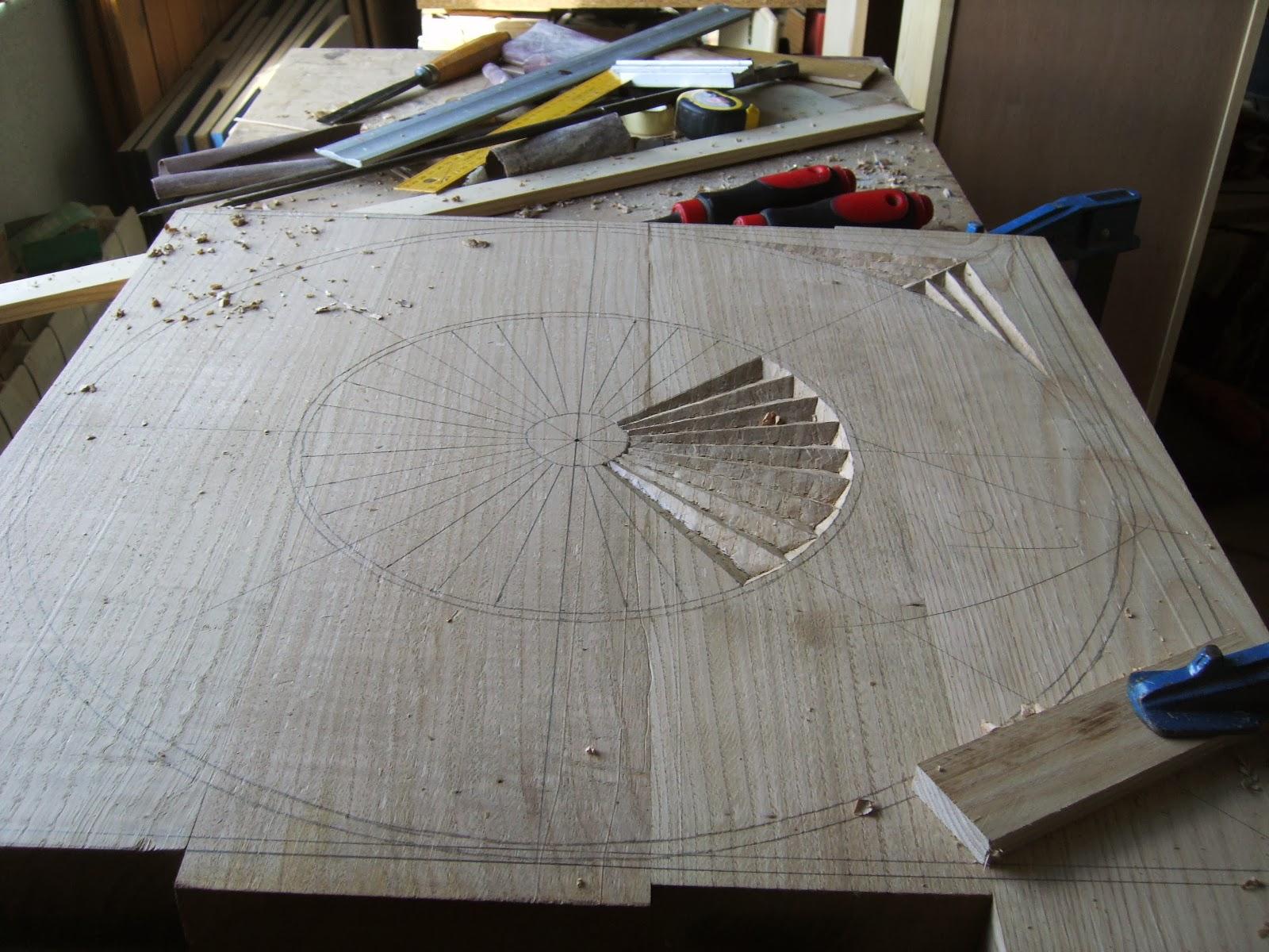 Trabajo talla en madera fotos for Trabajos por debajo de la mesa
