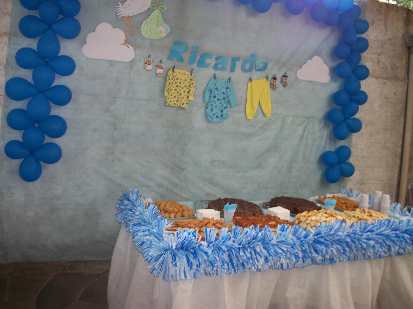 DiVanesa Decoraç u00e3o de Chá de Fraldas -> Decoração Para Chá De Fraldas Masculino Passo A Passo