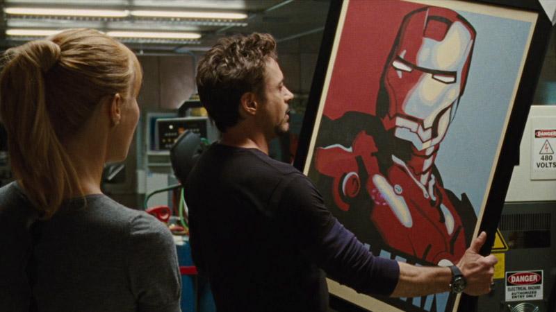 iron man 2, poster
