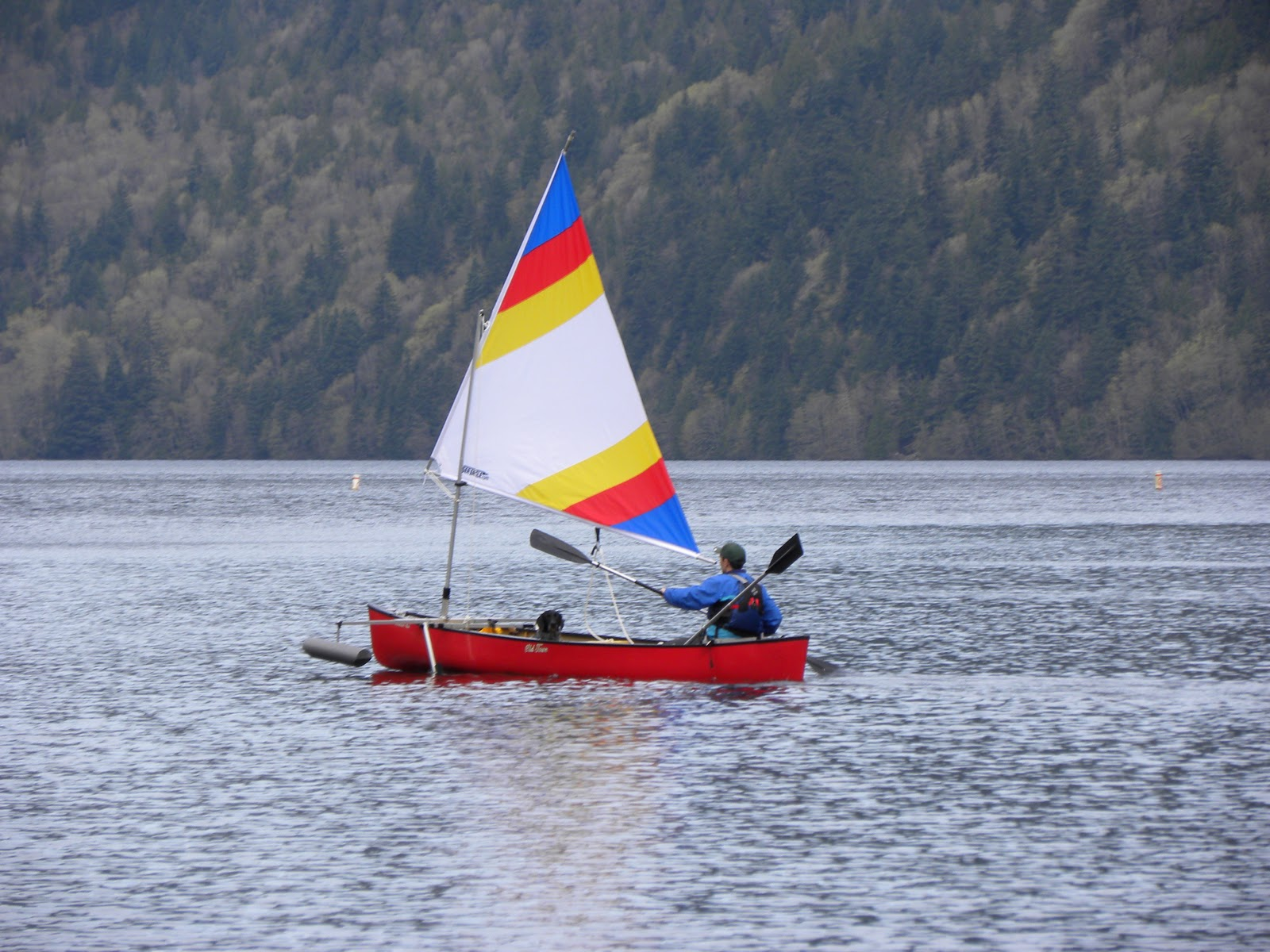 Log Canoe Sailing http://sweathogsoutdoorblog.blogspot.com/2011/04/thoughts-on-canoe-sailing.html