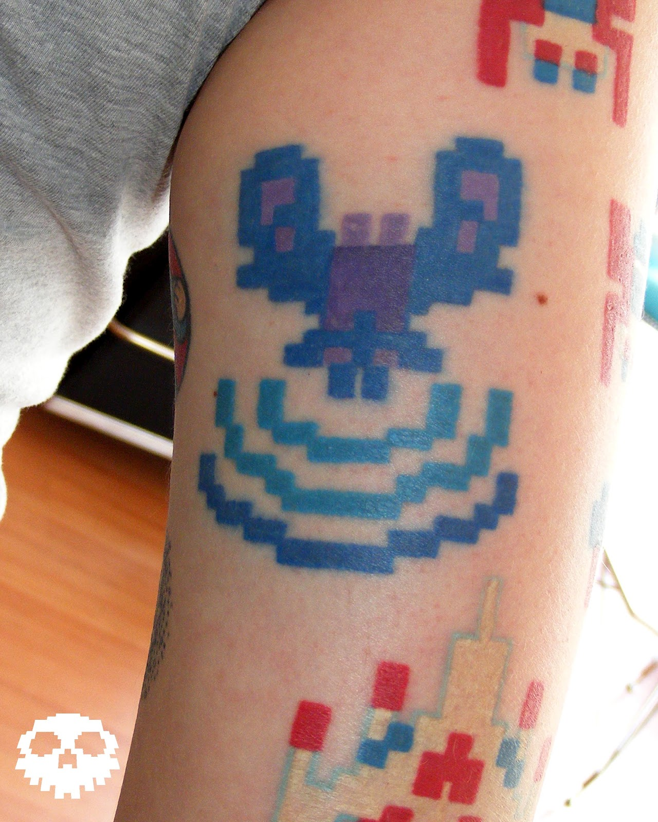 Xbox Tattoo Ideas: Welcome To The Artisanal Tattoo Blog!: Video Game Tattoos