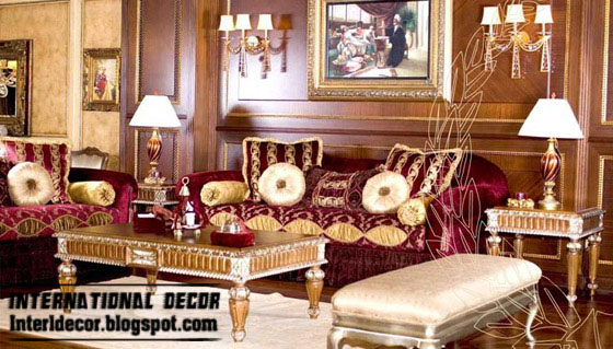 Luxury turkish living room design turkish decorations