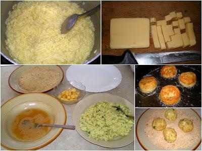 Kuleczki ryżowe z serem