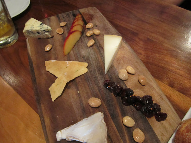 cheese platter at re:public seattle