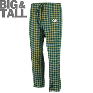 Big and tall Green Bay Packers Pajama Pants