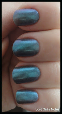 models own aqua violet nail polish swatches