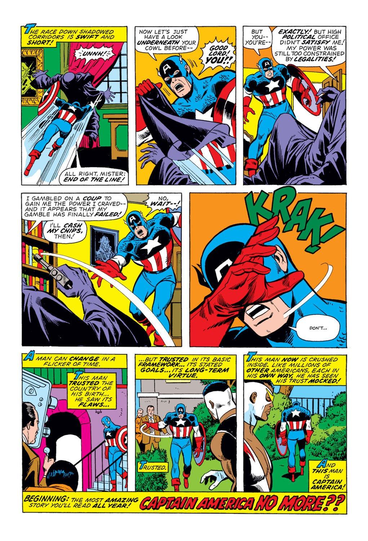 Captain America (1968) Issue #175 #89 - English 19