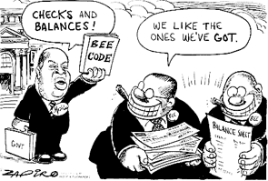 BEE Cartoon by Zapiro