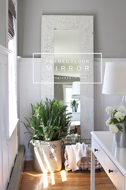 Framed Floor Mirror  |   Love Grows Wild