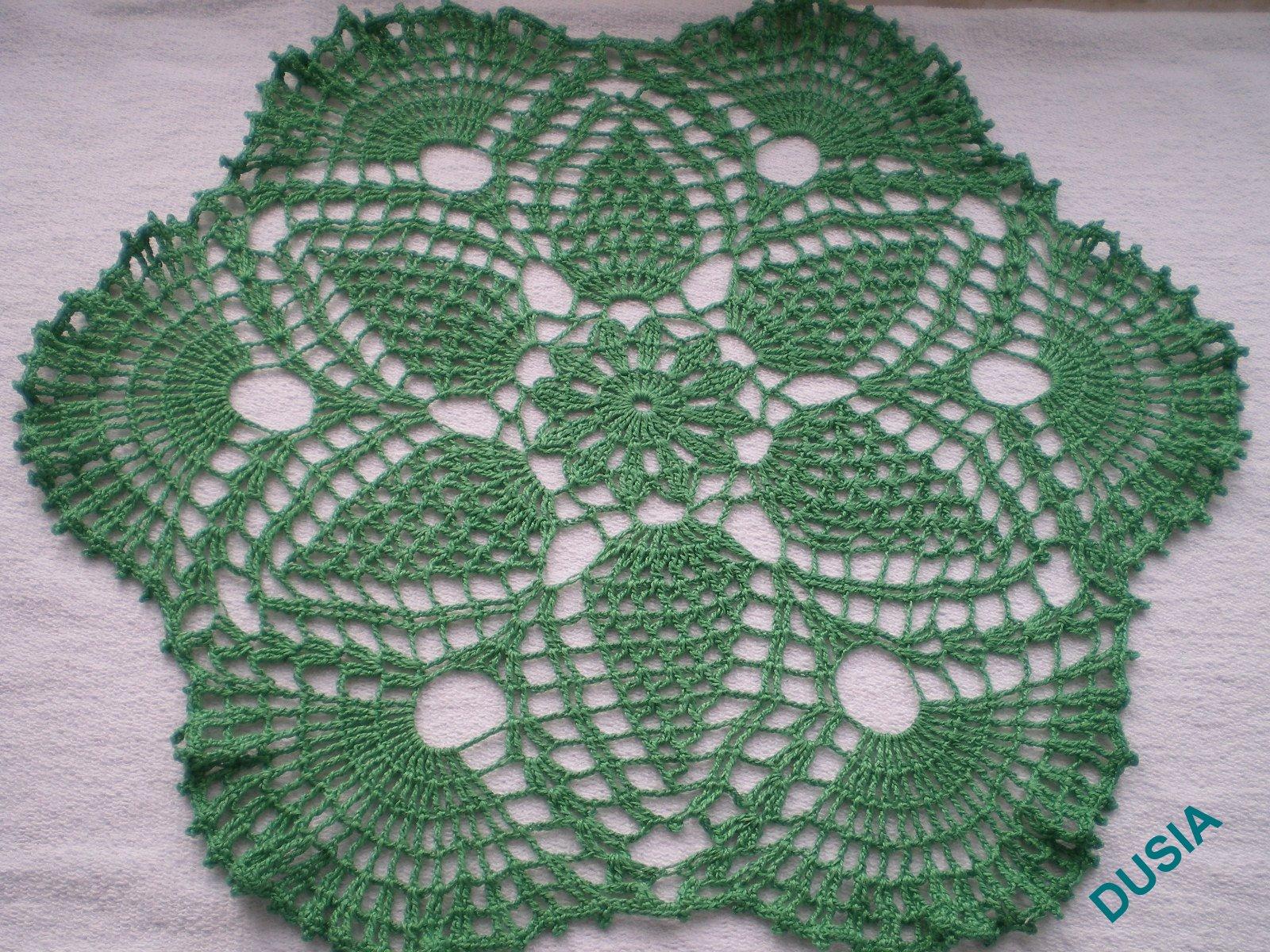 Serweta zielona