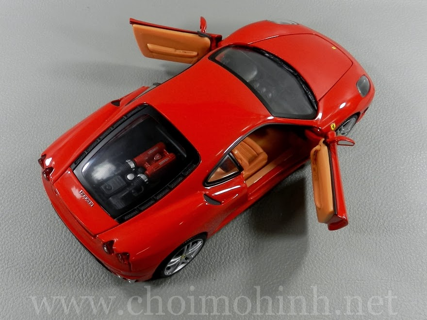 Ferrari F430 RED 1:18 Hot Wheels up
