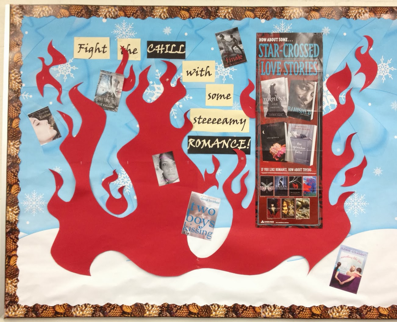 Smells Like Library Bulletin Boards Display January