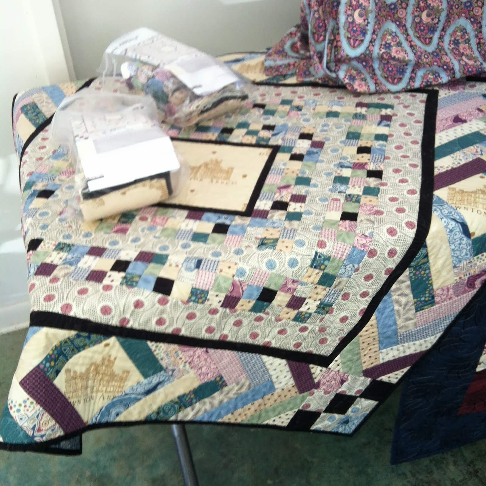 Sharp Quilts Downton Abbey Tea And Trunk Show
