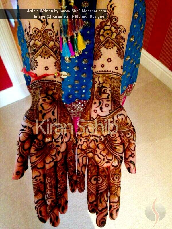 Difficult Mehndi Designs