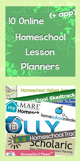 10 Online or App Homeschool Lesson Planners